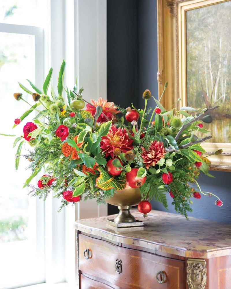 Fruitful Holiday Arrangement: Emily Kennedy