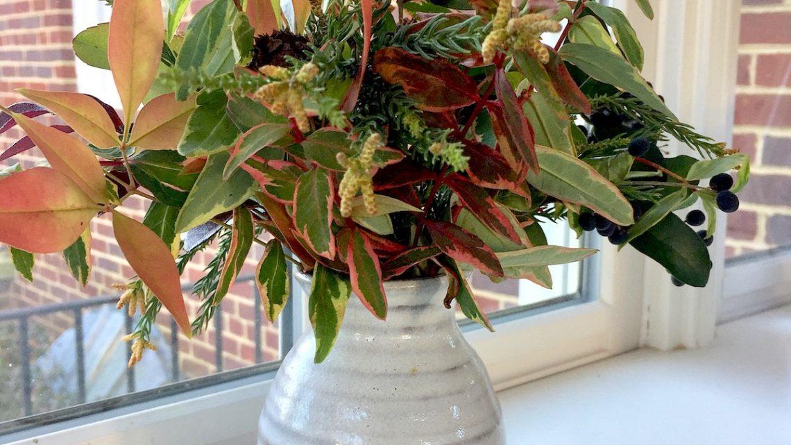 winter foliage arrangements
