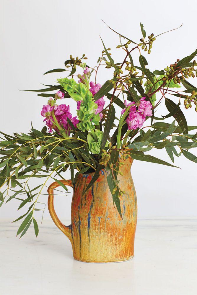 Arranging grocery store flowers, supermarket flower arrangements