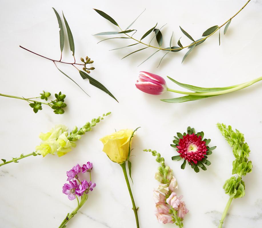 supermarket flower arrangement