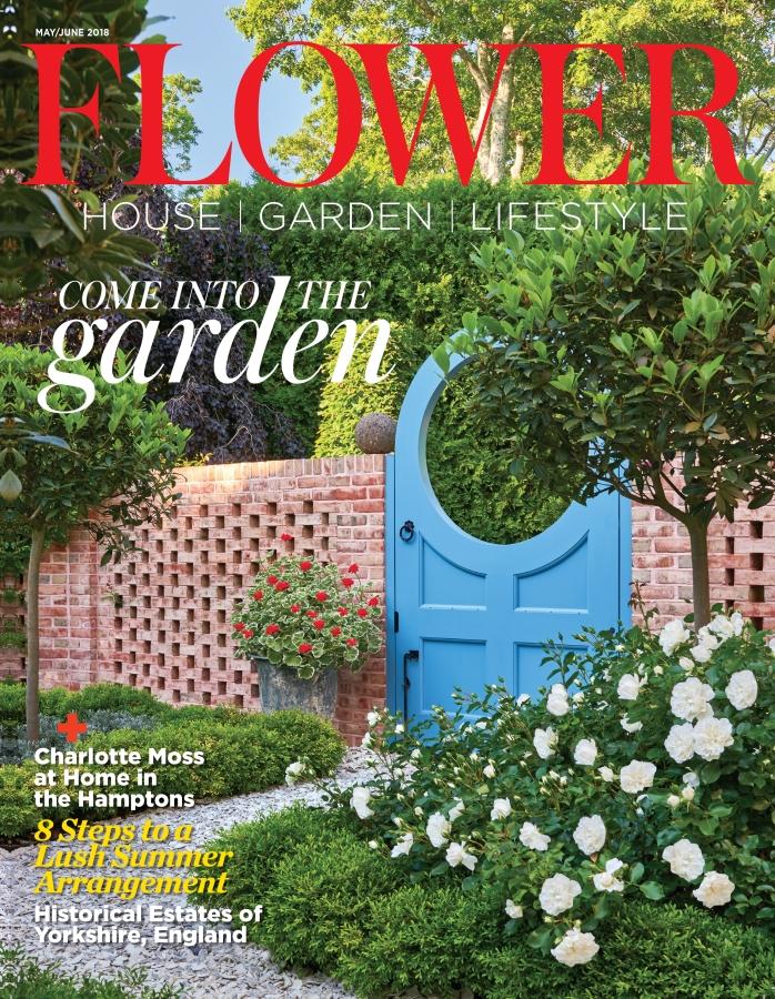 Flower magazine May-June 2018 cover