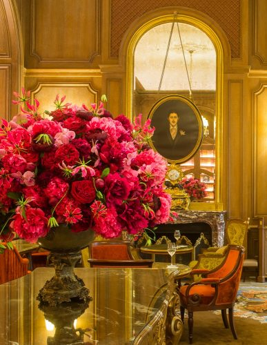 Flowers of Ritz Hotel Paris