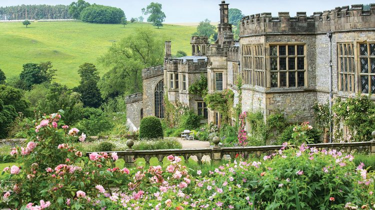 Haddon Hall, Derbyshire County UK