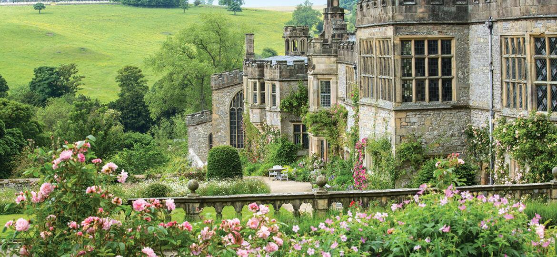 Haddon Hall, Derbyshire County UK