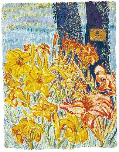 Painting by artist Christian Peltenburg-Brechneff,