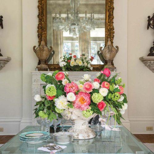 Doris Ione summer floral arrangement