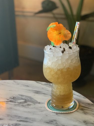 Sea Witch Cocktail by Laura Newman of Queen's Park in Birmingham