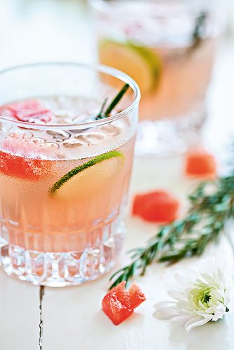Mocktails, aka nonalcoholic cocktails, created by David Hurst