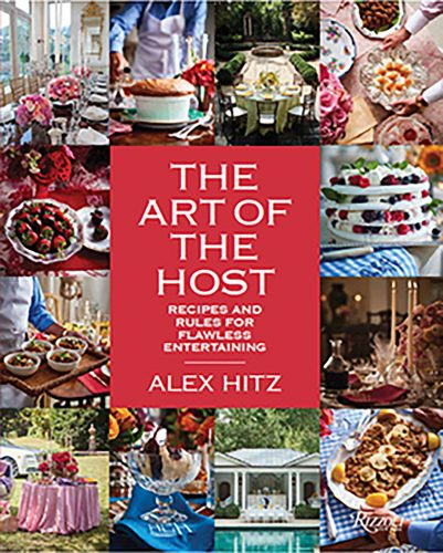 book cover for The Art of the Host by Alex Hitz