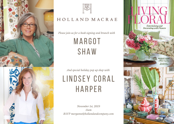 Holland Macrae invitation for 11/01/19