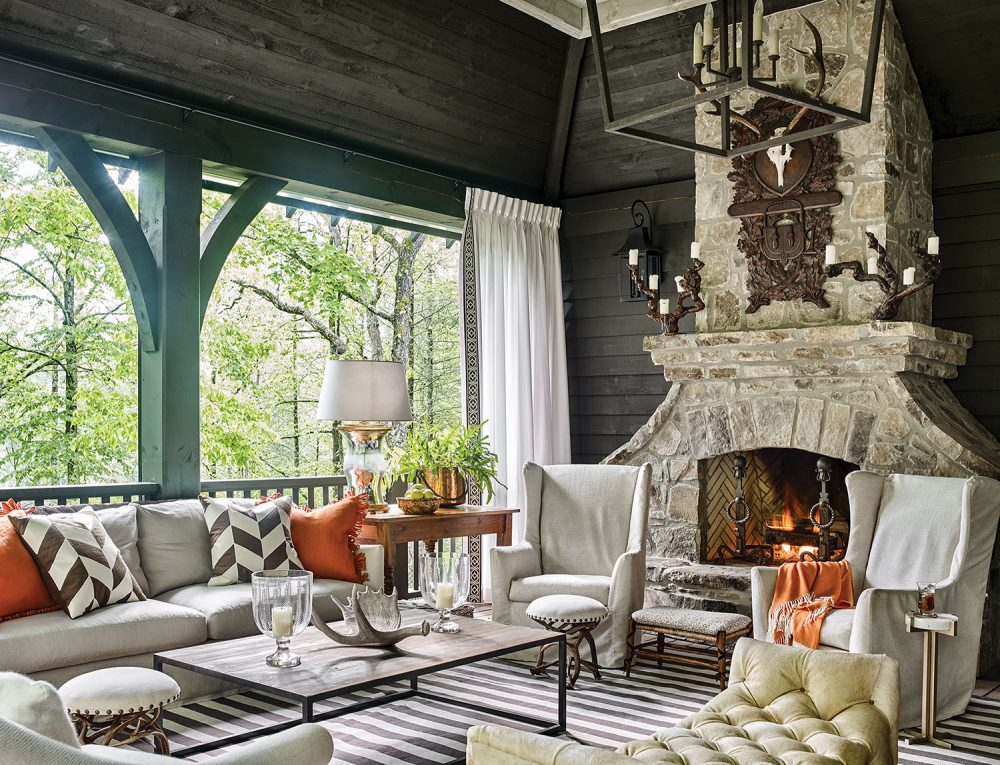 Chic Mountain House Design Ideas Flower Magazine