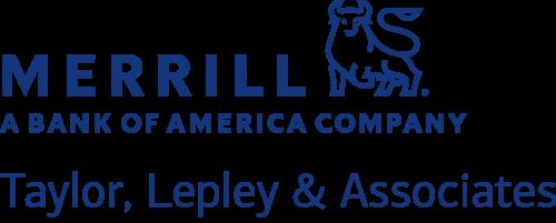 Merrill, A Bank of America Company, Taylor, Lepley & Associates logo