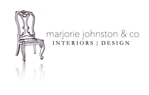 Marjorie Johnston and Co. Interiors and Design logo