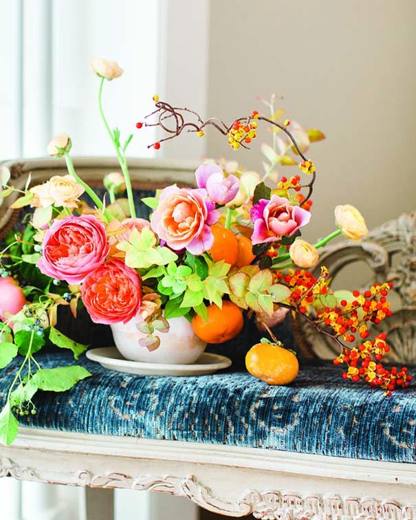 Flower arrangement by Ashley Beyer