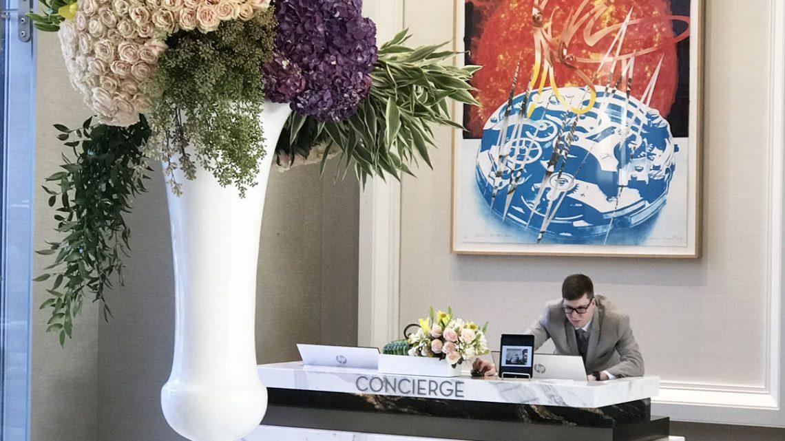 Oak Post Hotel concierge desk