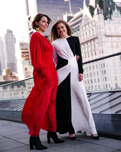 Alison Bruhn (left) Delia Folk of The Style That Binds Us