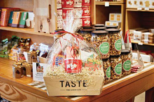gourmet treats gift basket from Taste, Richmond, VA