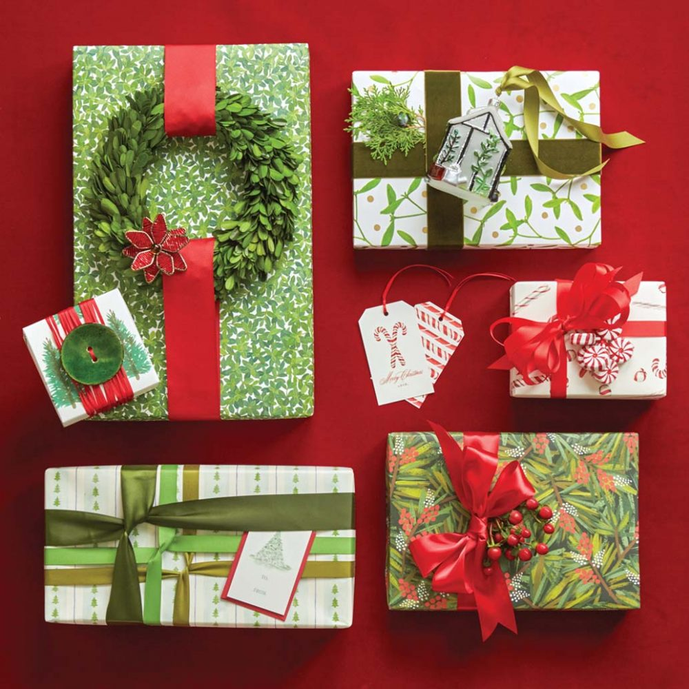 Christmas Gift Wrap Too Pretty To Open Flower Magazine