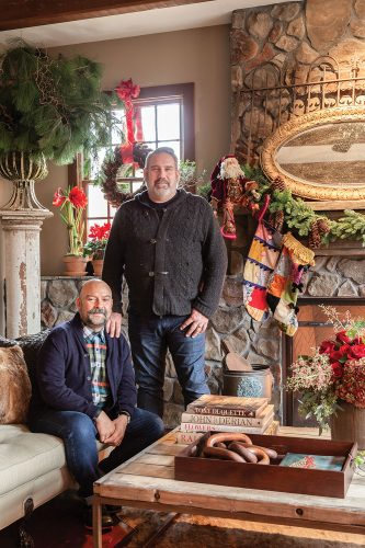Rick Davis and Christopher Vazquez are the owners of Amaryllis Floral & Event Design, one of Washington, DC's premiere floral design and event production firms