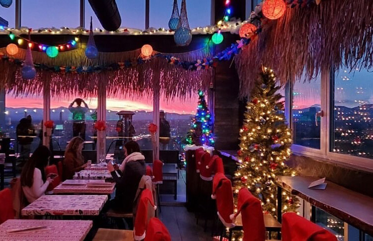 best rooftop bars in Asheville, NC