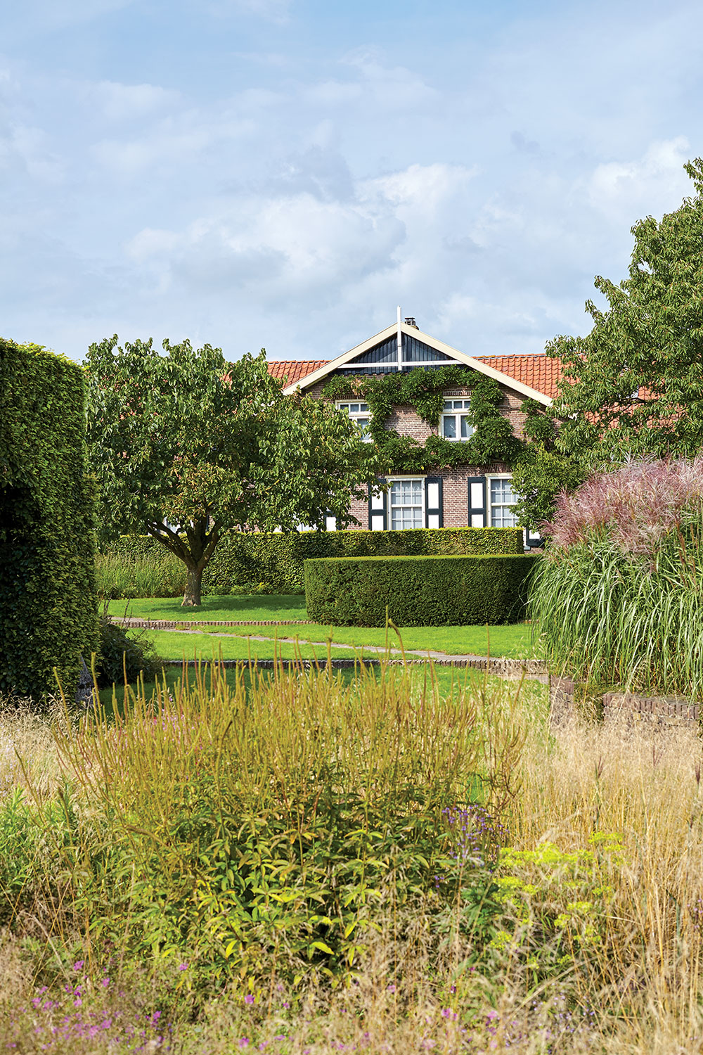 Piet Oudolf gardens and home