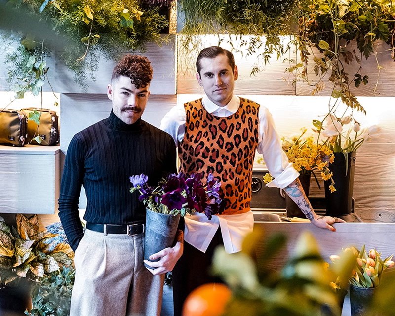Founders of Putnam & Putnam floral design firm and Putnam Flower Channel, which offers online floral design classes and tools