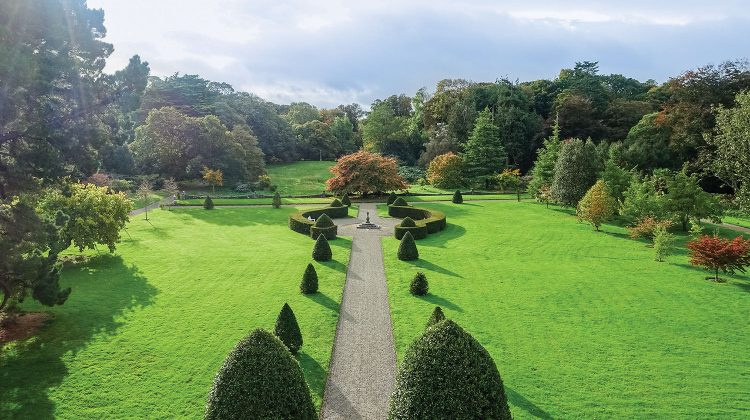 formal grounds at Glin Castle Ireland