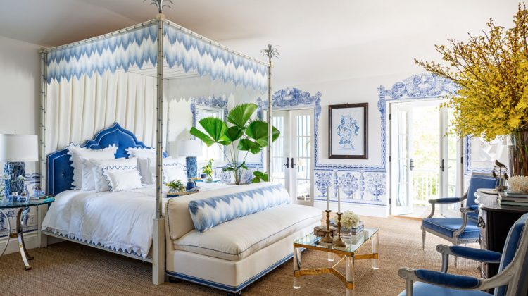 Kips Bay Palm Beach Show House 2020 - master bedroom