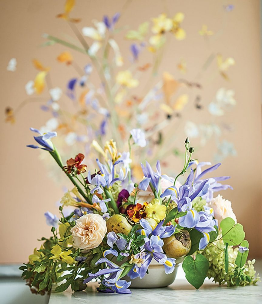 painting and floral design by Marcy Cook