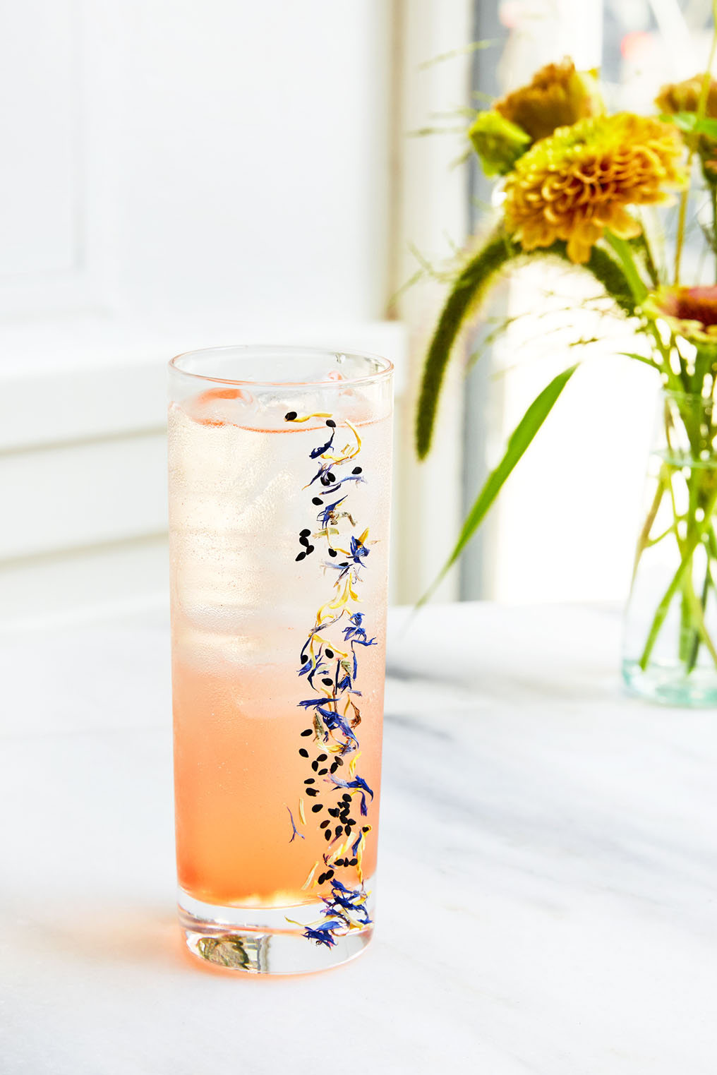 botanical-infused cocktail at Il Florista