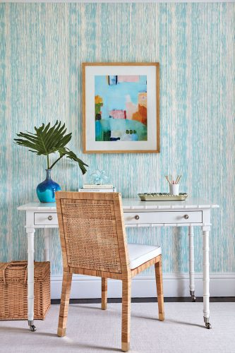 writing desk, interiors by Ellen Kavanaugh