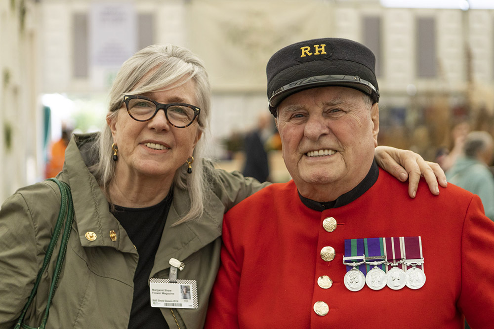 Margo Shaw, Chelsea Pensioners