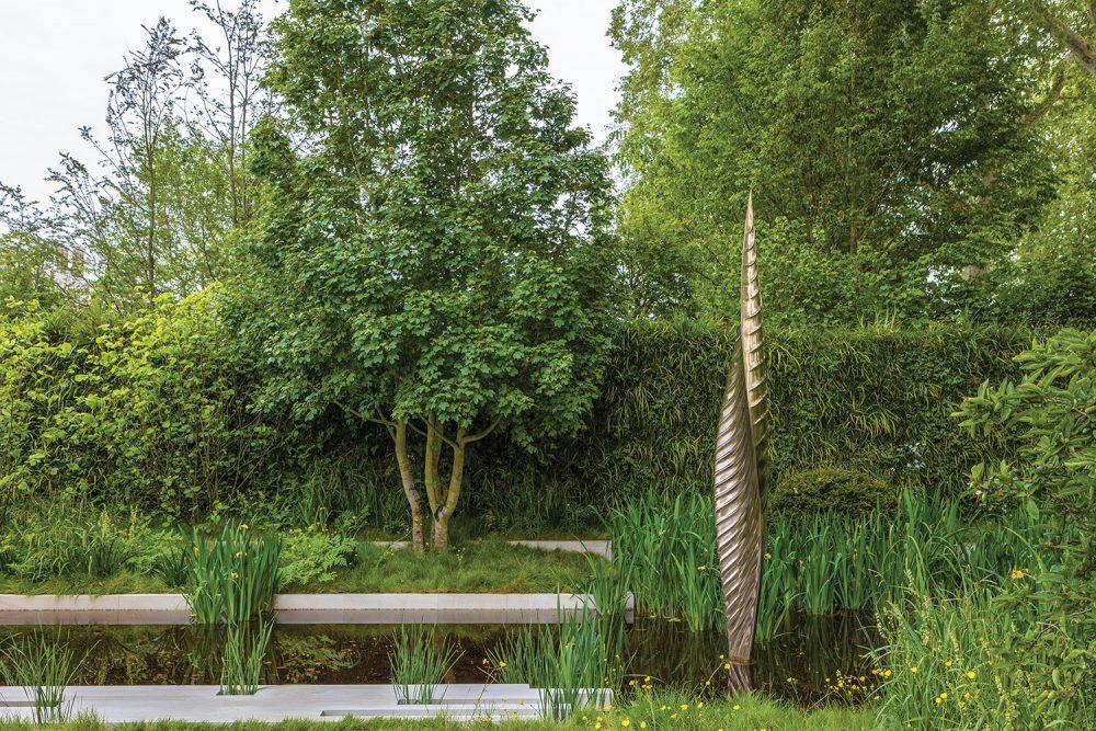 Savills and David Harber garden