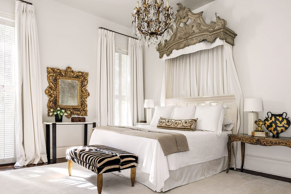 Master bedroom designed by Tara Shaw