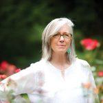 Margot Shaw in Rose Garden