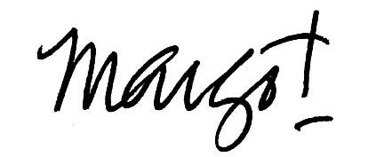 Margot Shaw's signature