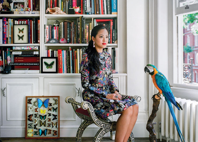 portrait of jewelry designer Anabela Chan