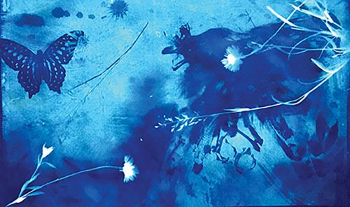 'Blue' painting