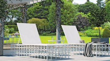 Outdoor living essentials for 2020, lounge chairs