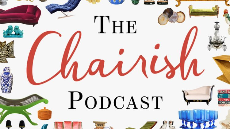 The Chairish Podcast graphics