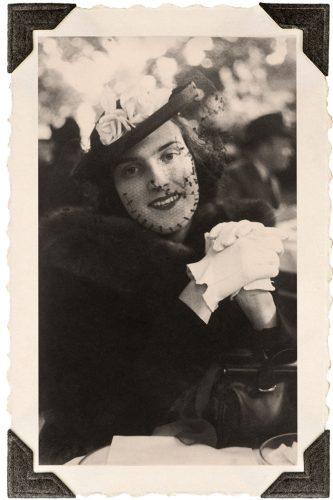 vintage black-and-white portrait of Oatsie Charles