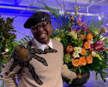 Atlanta-based floral designer Canaan Marshall