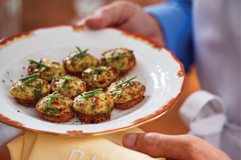 Bel-Air Onion Puffs