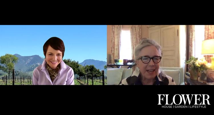 Margot Shaw Chats with Frances Schultz split screen