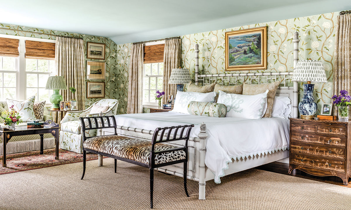master bedroom designed by James Farmer