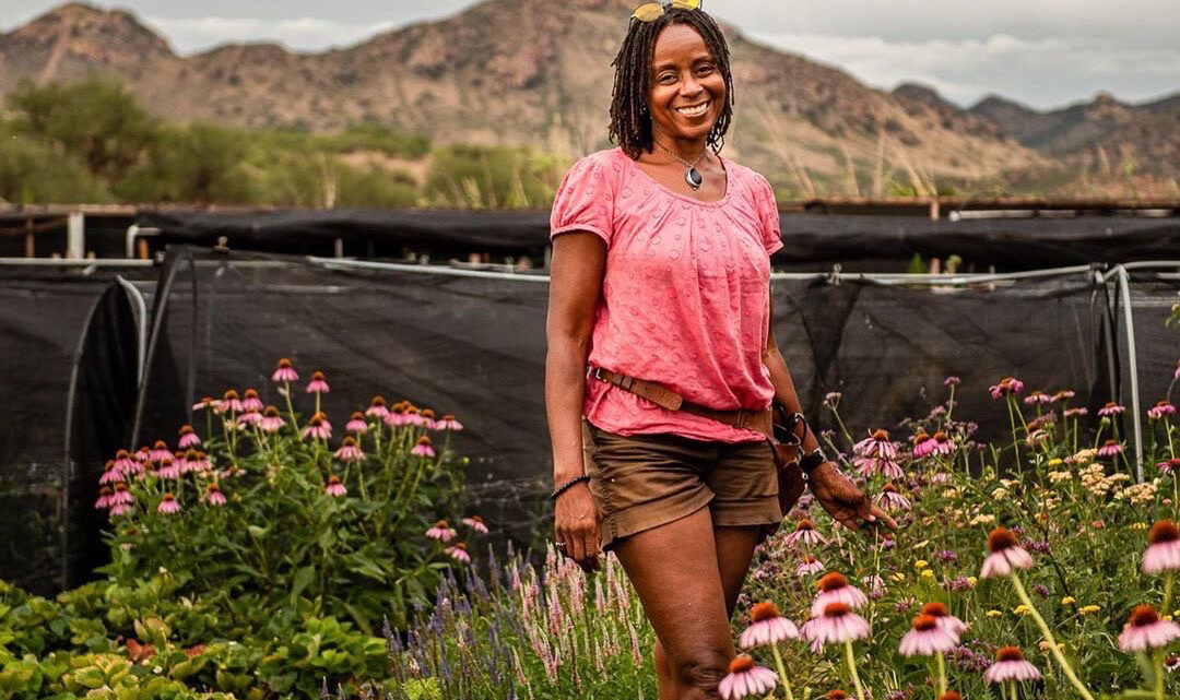 Aishah Lurry of Patagonia Flower Farm in Arizona