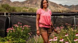 Aishah Lurry of Patagonia Flower Farm in Arizona