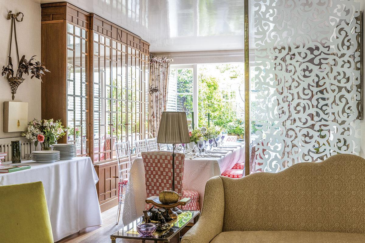 Nina Campbell's dining room