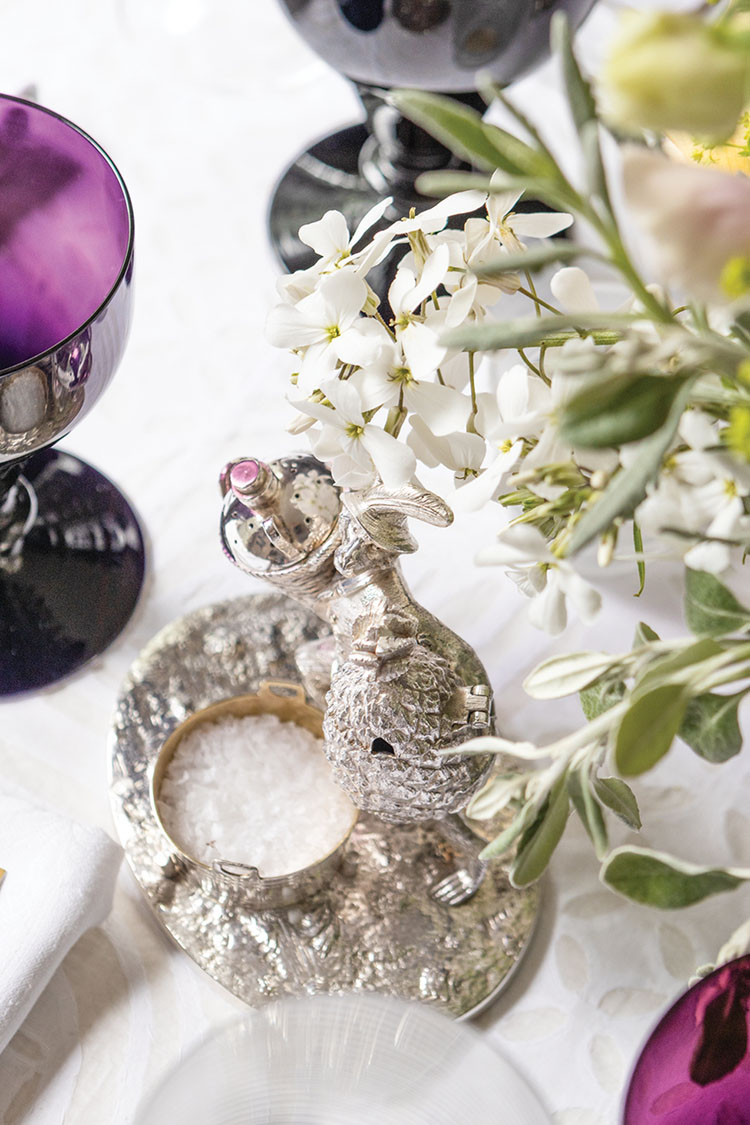 silver antique objets