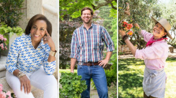 Portraits of new contributing editors for Flower magazine